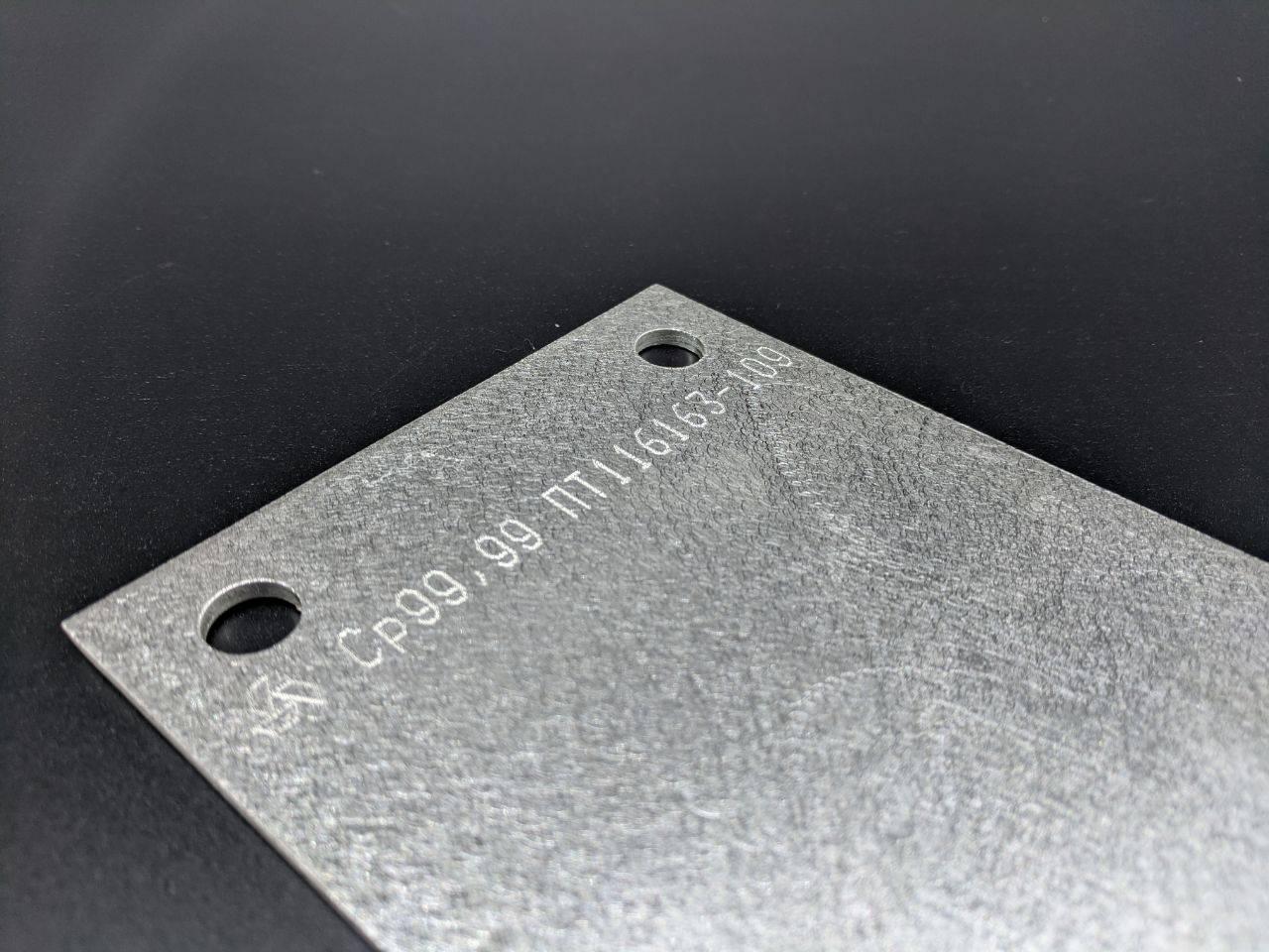 Анод из серебра